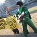 Eco Elvis celebrates America Recycles Day (11-15-11)