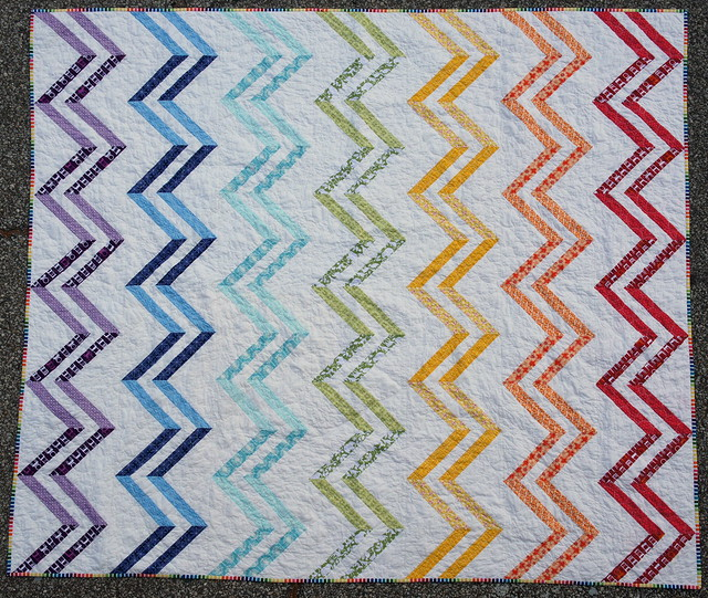 Zig Zag Love Quilt Pattern : A Zig and A Zag - Complete! Flickr - Photo Sharing!