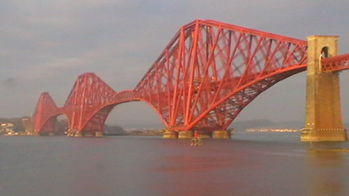 """The Forth rail  Bridge"""