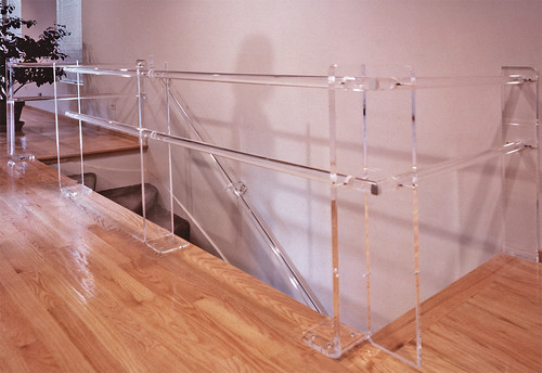 Interior design elements cfm residence acrylic railing by