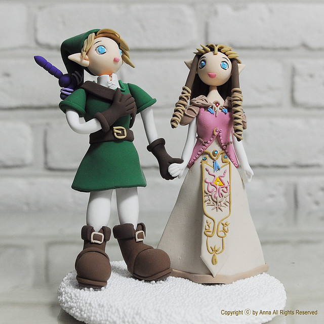 Legend of zelda cake topper decoration explore anna for Decoration zelda