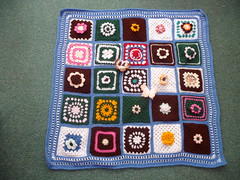 What a fantastic Blanket! The whole Blanket has been donated to SIBOL from jean nock! Golly you have made this so quickly! I am so grateful to you, thank you so much!