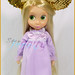 Rapunzel Toddler wearing 50th ears