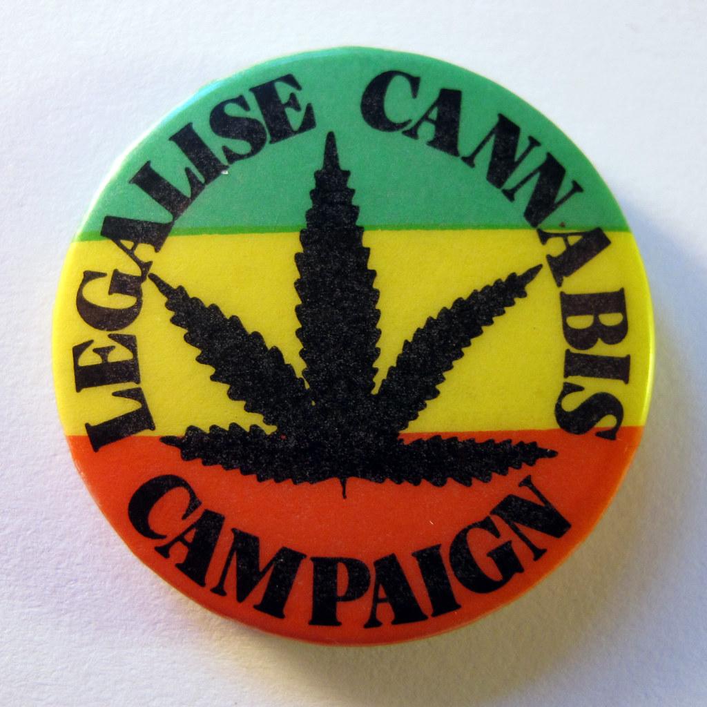 Pro Cannabis Button
