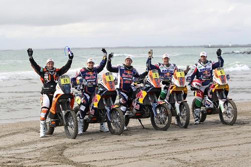 Team KTM 2012 Dakar