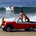 Jeep Jeepster Convertible on Beach