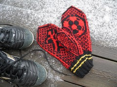 Football mittens - ManU