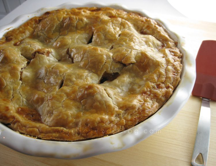 salty caramel apple pie