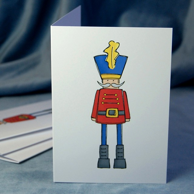nutcracker - christmas card pack