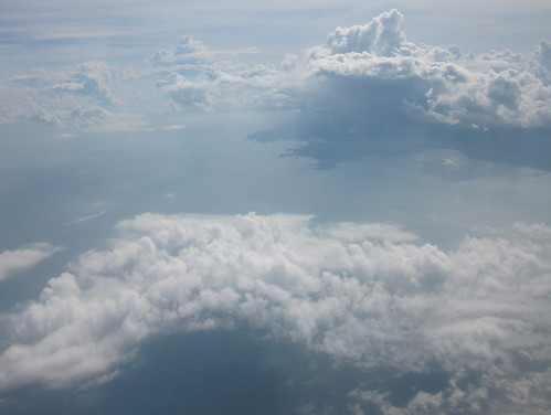 Above the Java Sea