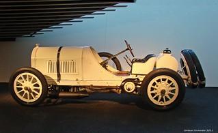 Mercedes-Benz Museum - Mercedes-Benz Museum - Benz Grand-Prix-Rennwagen 1908