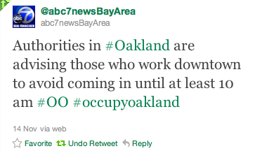 "The Misappropriation of ""Public Safety"" in Occupy Oakland"