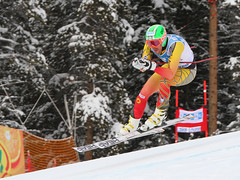 Dustin Cook,  men's Lake Louise Winterstart World Cup downhill