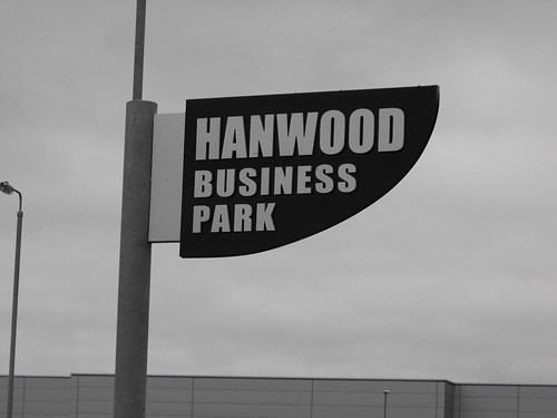 TOTEM SIGN AT HANWOOD BUSINESS PARK