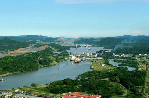 Canal do Panamá - Reprodução