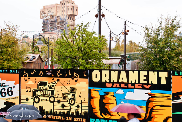 Cars Land Refurbishment - Mater's Junkyard Jamboree