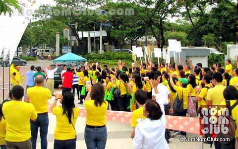 Guests from Jamba Juice International Arrives in Alabang Town Center
