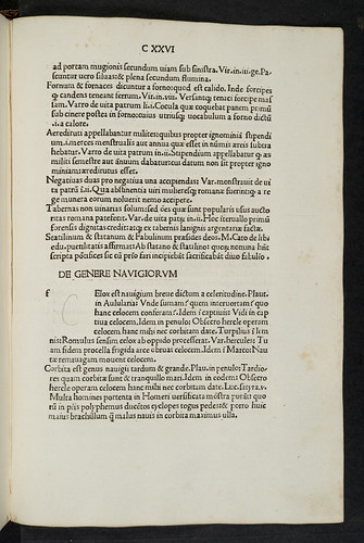 Corrected guide-letter in Nonius Marcellus: De proprietate latini sermonis