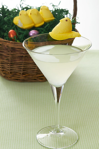 The Yellow Chickie Martini