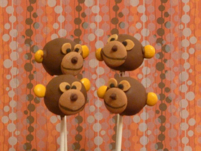 Animal Cake Pops Uk