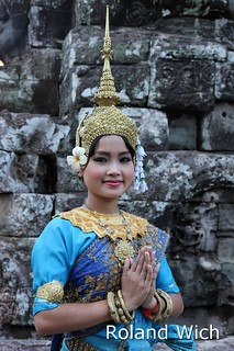 Apsara Dancer at Bayon