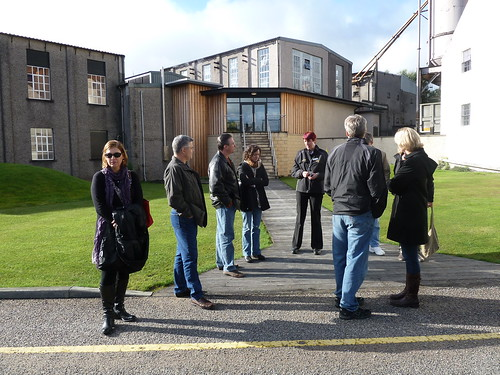 Tour Group at Macallan Distillery, Speyside