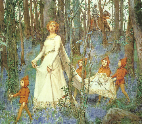 "Henry Meynell Rheam  (British, 1859-1920), ""The Fairy Wood"""