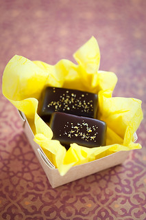 Homemade ​​lemon and orange chocolate Sweets