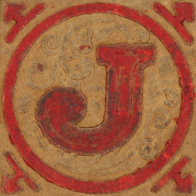 Vintage letter j all New