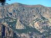 Sentier Capeddu-Sari : Punta Lunarda et Punta Malanda vues depuis le long de Punta Batarchjone