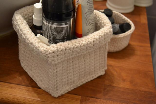 paniers crochet s l 39 atelier de vidibio. Black Bedroom Furniture Sets. Home Design Ideas