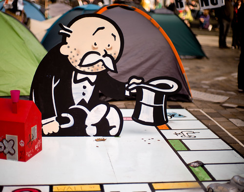 Monopoly at Occupy London SX 25Oct2011_0007