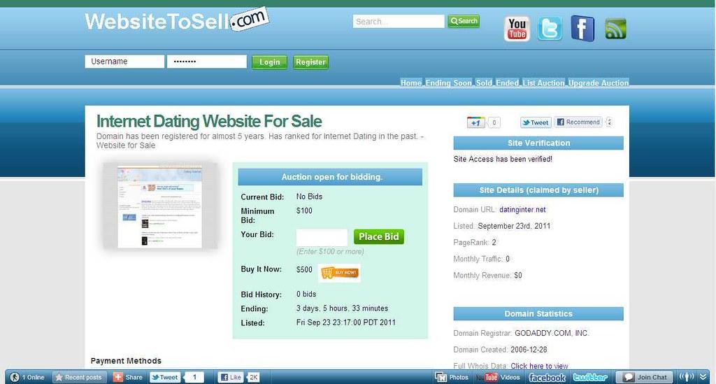 internet dating sites for sale