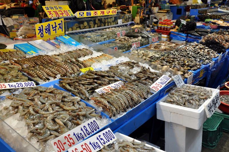 Noryangjin Seafood Market in Seoul