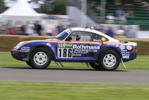 Porsche 959 Dakar racer - Goodwood Festival of Speed