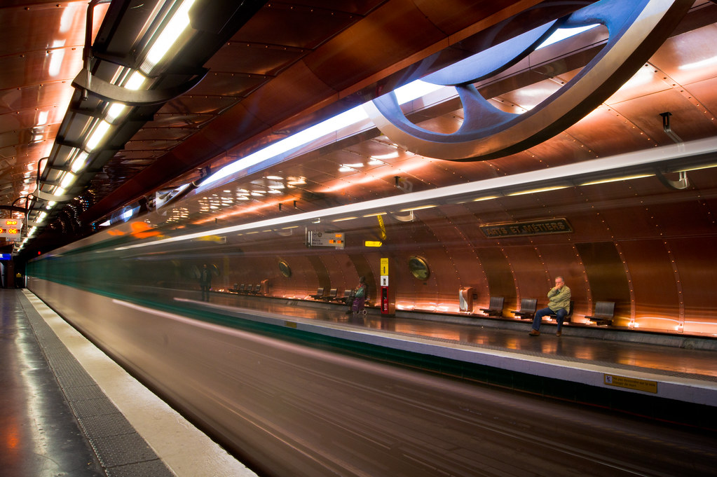 Paris Metro - Arts et Metiers