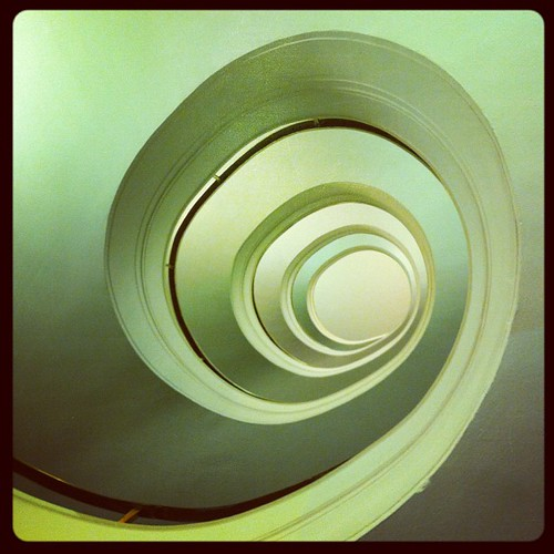 Cool staircase #iphoneography #architecture