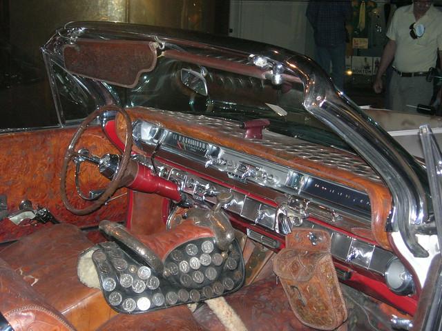 Webb Pierce S Silver Dollar Car Interior Flickr Photo Sharing