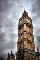 Big Ben - London (Don't watch the clock; do what it does. Keep going)