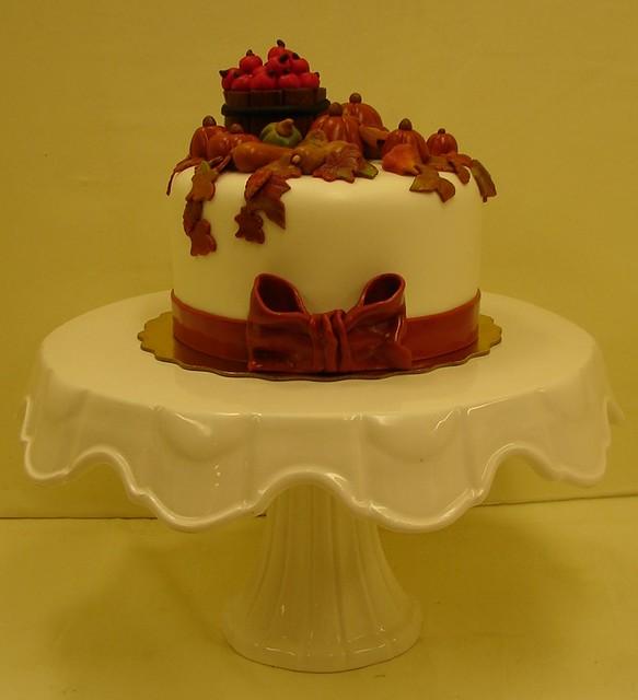 fall harvest birthday cake flickr photo sharing