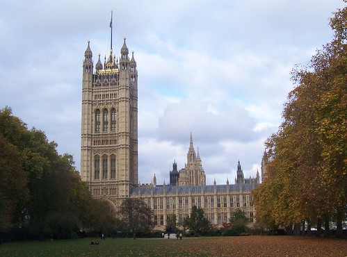 Victoria Tower, The Houses of Parliament, London, November 2011