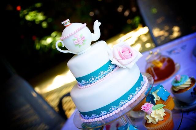 tea party theme cakes