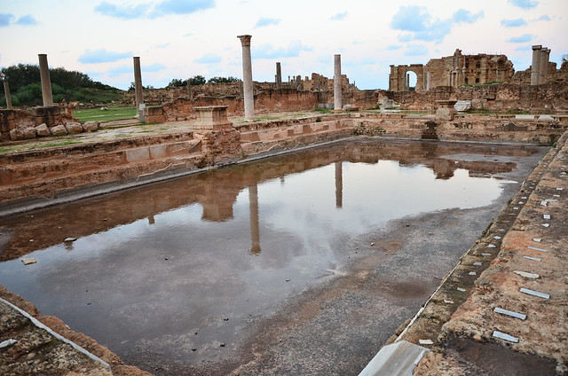 Swimming pool at Leptis Magna