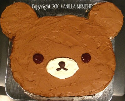 Rilakkuma Milk Chocolate Cake