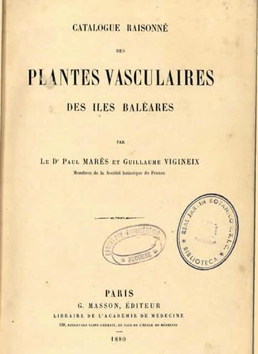 Alta mar de paul mar s y su 39 catalogue raisonn des for Biblioteca digital real jardin botanico