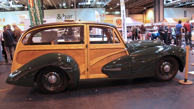 Healey Shooting Brake - Classic Motor Show Nov 2011