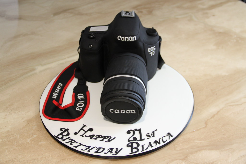 Canon 7d Camera Cake A Photo On Flickriver