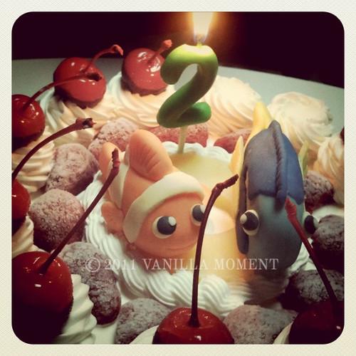 Nemo & Dori cake toppers