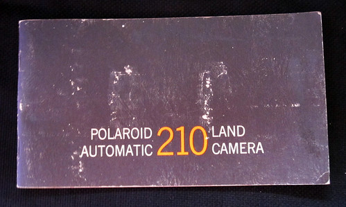 My New Camera - Polaroid Automatic Land Camera 210