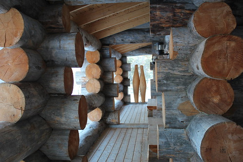Sauna traditionnel Laponie Finlandaise